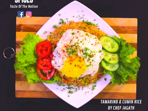TAMARIND & CUMIN RICE BY CHEF JAGATH