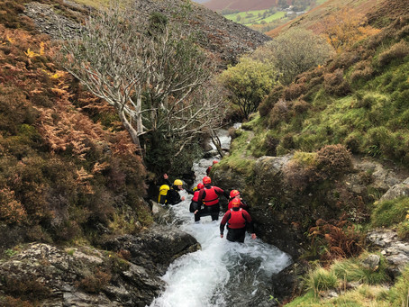 Ghyll scrambling: great things to do in the Lake District with kids