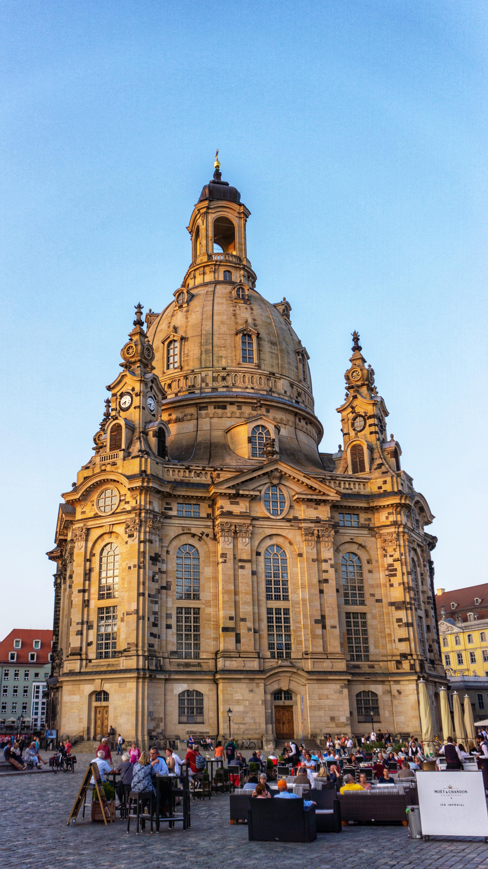 Die wunderschöne Frauenkirche in Dresden