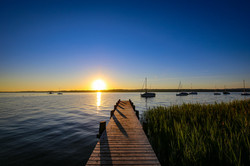 Sonnenaufgangsstimmung am Ammersee