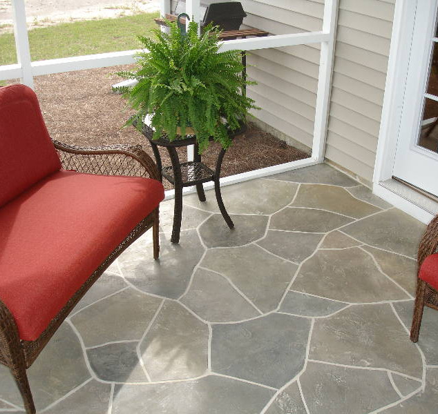 Overlay With Real Grout