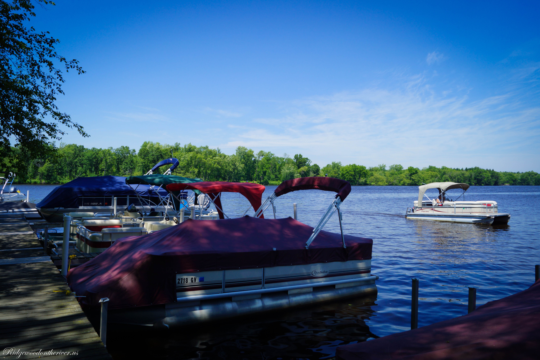 pontoon at docks
