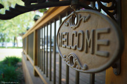 a welcome to Ridgewood