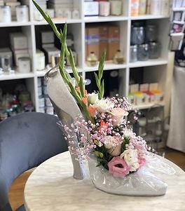 Large Shoe Flowers