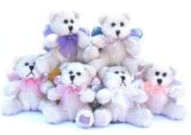 Angel Bears 10cm