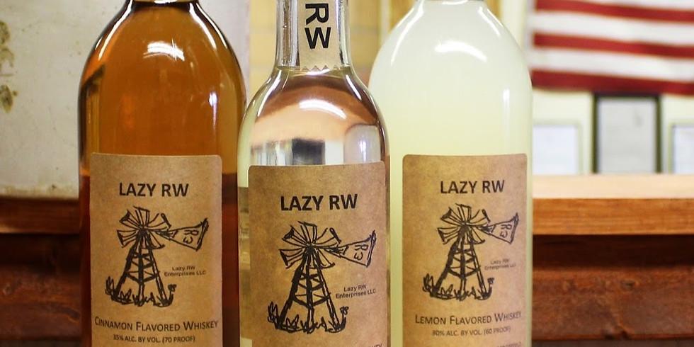 Lazy RW Whiskey Tasting