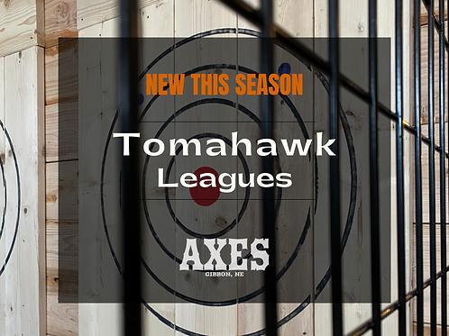 Singles Tomahawk League Registration