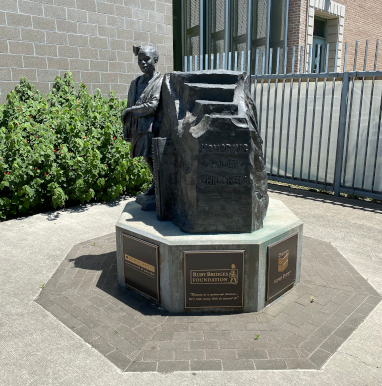 Civil Rights Pioneer Statue Unveiled