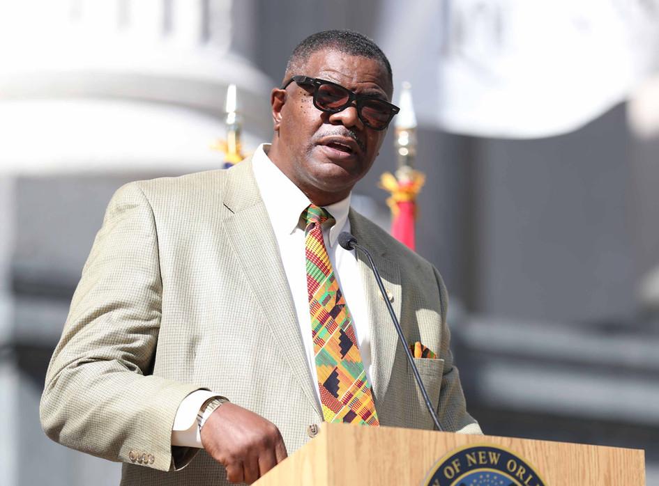 Ronald C Coleman NAACP Nola President.JP