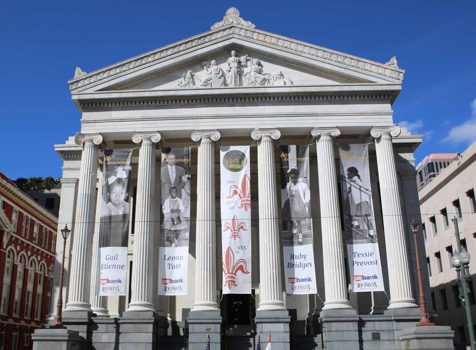 Gallier Hall 60th Anniversary of Desegregation