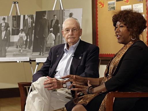 Civil Rights Pioneer Thanks US Marshal