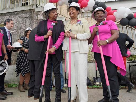 Three Civil Rights Icons Break Ground