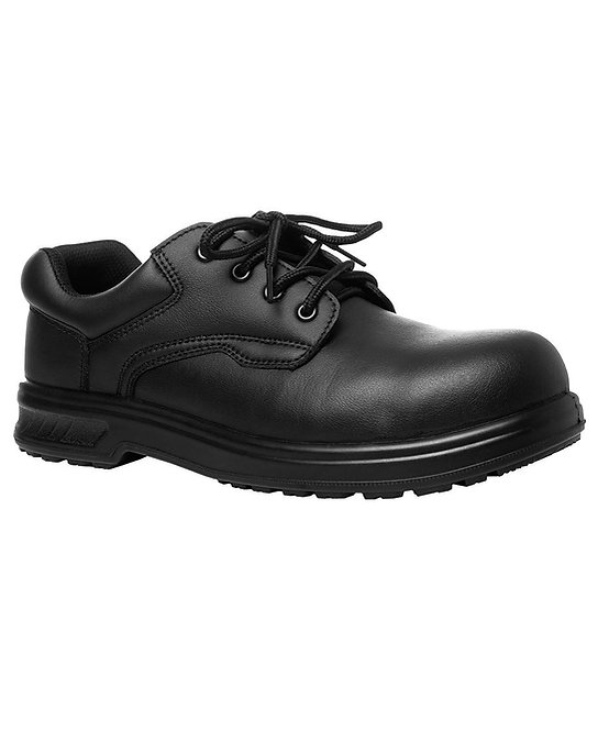 MICROFIBRE LACE UP STEEL TOE SHOE 9C4