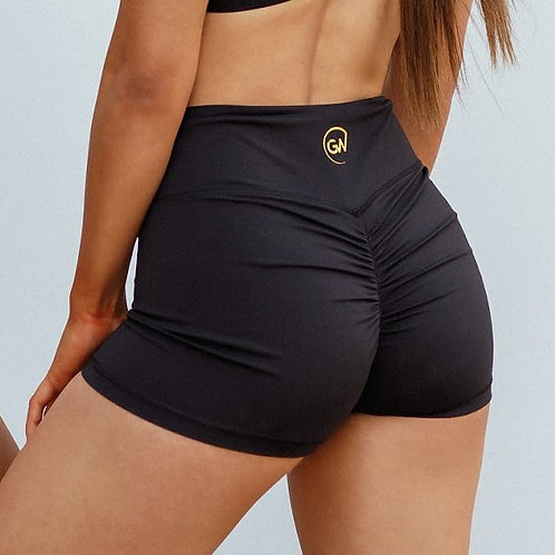 Black Booty Shorts