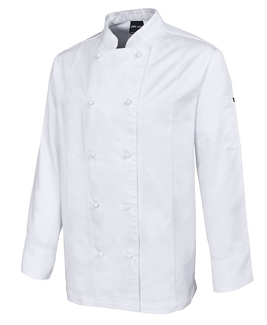 VENTED CHEF'S L/S JACKET 5CVL