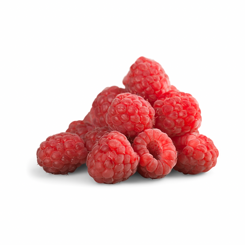 Raspberries tray of 12