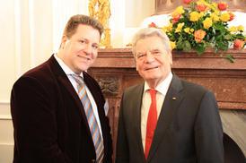 Michael Steffens with Joachim Gauck