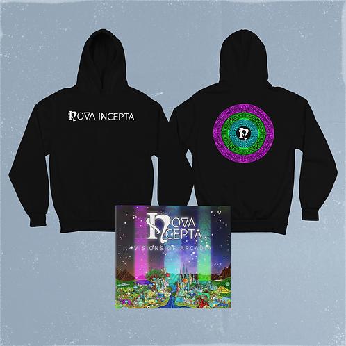 Hooded Sweatshirt & CD Bundle