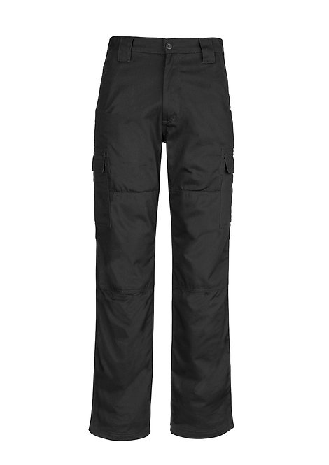 ZW001S Mens Midweight Drill Cargo Pant (Stout)