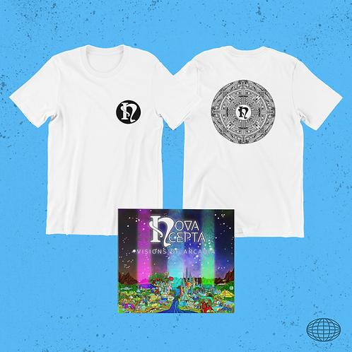 White Shirt & CD Bundle
