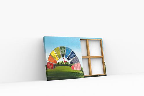 Rainbow Mini Canvas