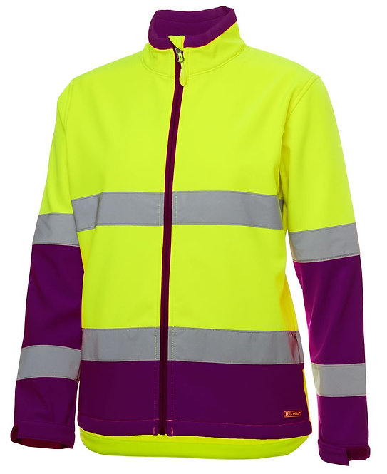 LADIES HI VIS D+N WATER RESISTANT SOFT 6DWJ1