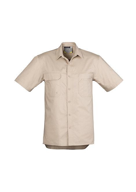 ZW120 Mens Light Weight Tradie S/S Shirt
