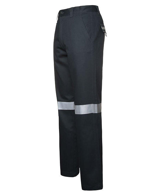 MERCERISED WORK TROUSER WITH REFLECTIVE TAPE 6MDNT