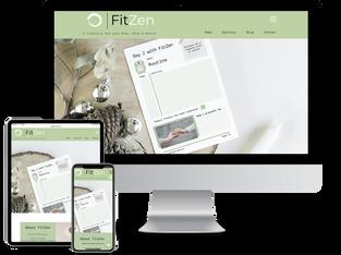 FitZen Website Design
