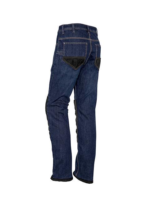 ZP508 Mens Heavy Duty Cordura® Stretch Denim Jeans