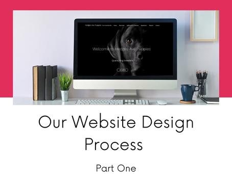 Website Design Process Part 1.