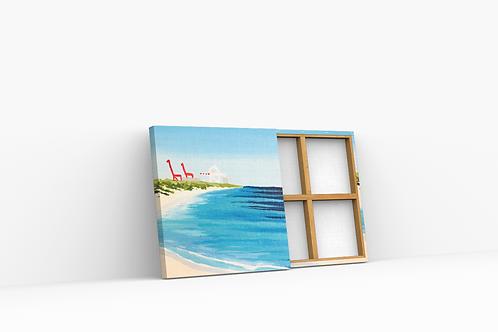 Shoreline Mini canvas