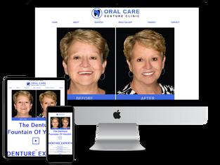 Denture website design.tiff