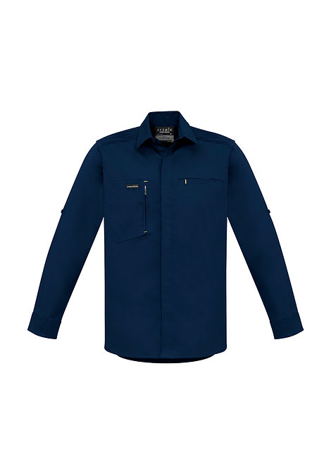 AU    ZW350 Mens Streetworx L/S Stretch Shir