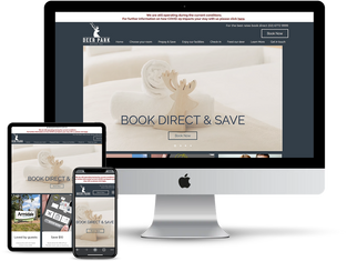 Resort website design.tiff