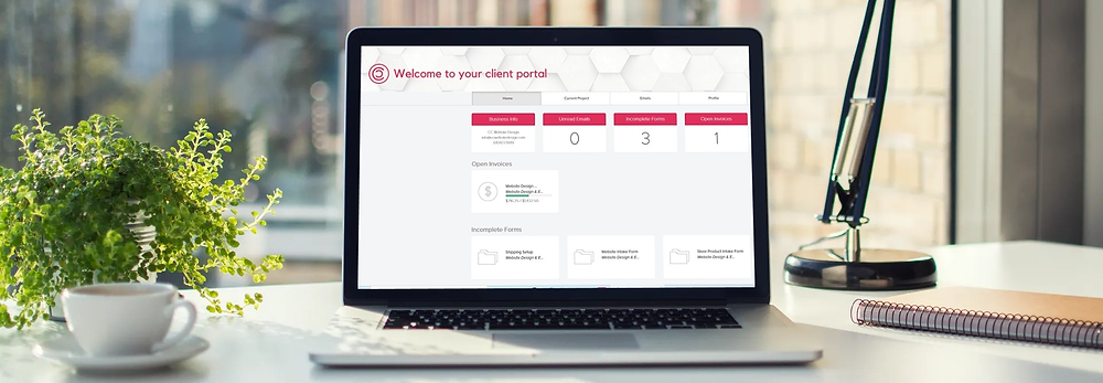 Website Design Client Portal
