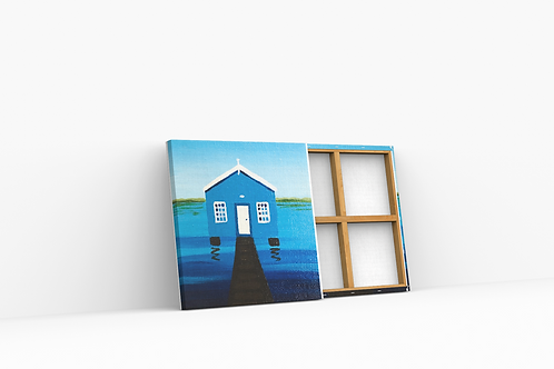 Boat Shed Mini Canvas