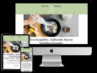 Nutrition website design.tiff