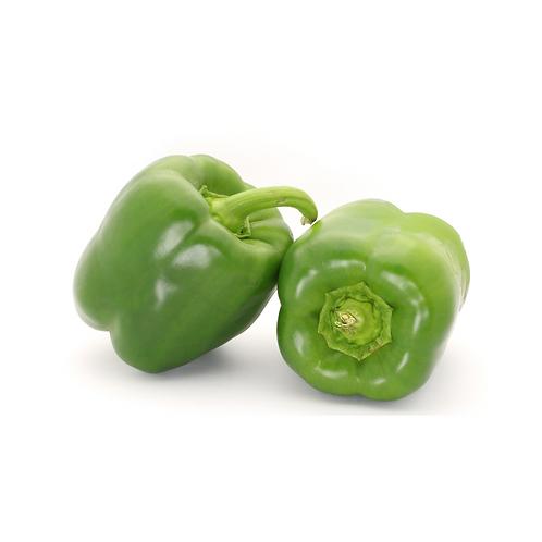 Capsicum - (green large SP 8kg)