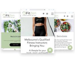 fitzen-website-design-mockup