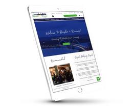 Ipad Website Mockup