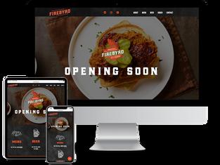 Ireland Food Store Website Design