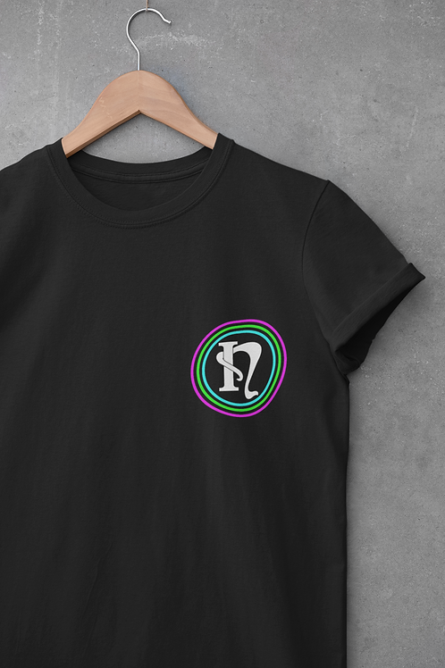 Nova Incepta Logo T-Shirt in Black