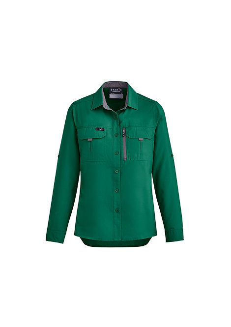 NEW COLOUR   ZW760 Womens Outdoor L/S Shirt