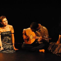Playing Oud with Dunja Botic @ Fire Water Tribal Bellydance performance