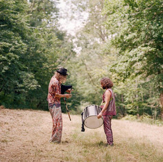 Playing Davul with Josh Middleton @ Wilderness Festival
