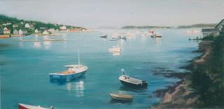 Peaceful Harbor III (Triptych)