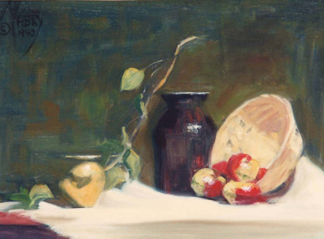 Still Life with Ladyapples