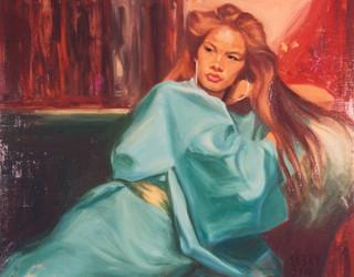 The Turquoise Kimono