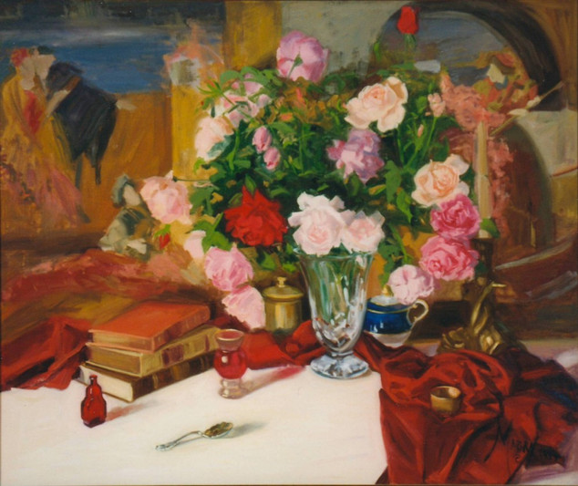 English Roses; French Tapestry